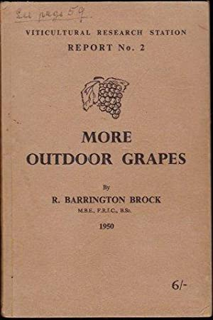 More Outdoor Grapes in Cold Climates. 1950.