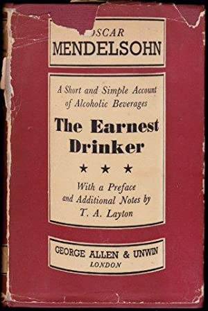 The Earnest Drinker. 1st. edn.