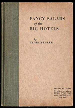 Fancy Salads of the Big Hotels. 2nd. printing.