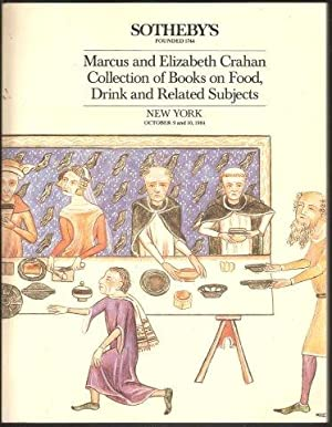 Sale catalogue of books on Food, Drink and Related Subjects. Sotheby, New York,