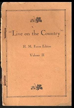 ''Live on the Country''. H.M. Forces Edition. Volume II. c.1941.