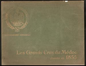 Les Grands Crus du Medoc classes en 1855. 1964.