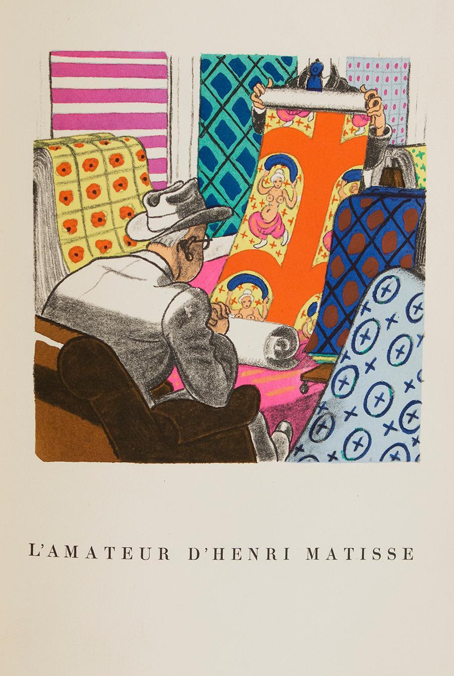 Hypothèses Sur Les Amateurs De Peinture a L'état Latent. Un Postulant et 16 Lithographies En Corollaire Bruller, Jean Fine Hardcover