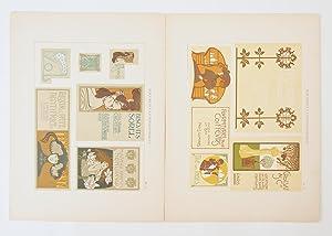 Documents Lithographiques. Quarante Planches Comportant Plus De 300 Compositions Originales En ...