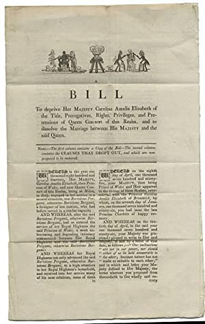Dropt Clauses out of the Bill, against the Queen. For Mr. Attorney General to peruse and settle. ...