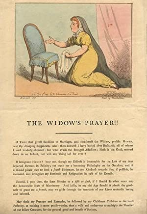 The Widow's Prayer!!