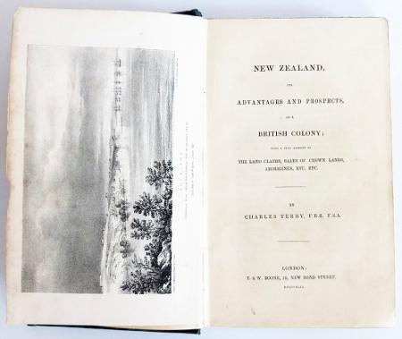 New Zealand, its advantages and prospects as a British colony ; with a full account of the land ...