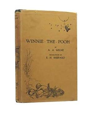 Winnie The Pooh - the true first: A A Milne