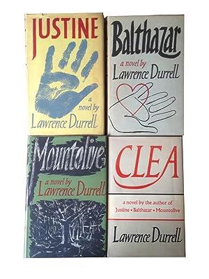 The Alexandria Quartet [Justine/Balthazar/Mountolive/Clea]: Durrell, Lawrence