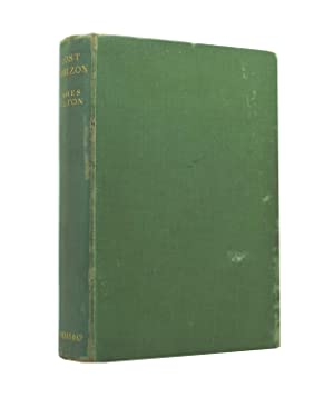Lost Horizon - true first printing in: Hilton, James