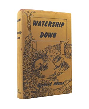 Watership Down - the true first printing: Richard Adams