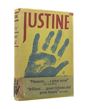 Justine - with the rare wrap-around band: Lawrence Durrell