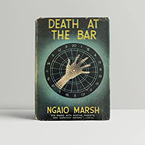 Death At The Bar - in the true first issue dust wrapper