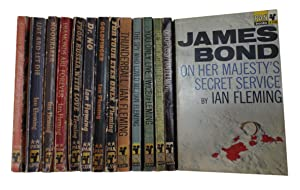 James Bond – Set of First Edition: Fleming, Ian