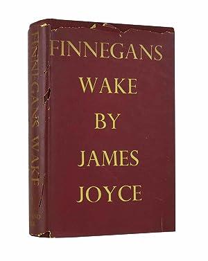 Finnegan's Wake - true first printing of: Joyce, James