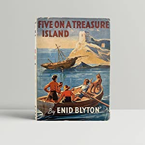 Five On A Treasure Island - in: Blyton, Enid