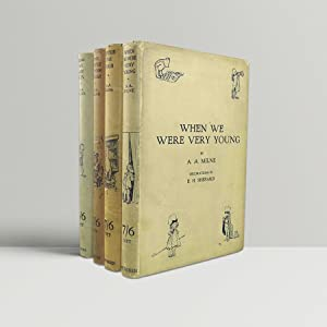 THE COMPLETE WINNIE-THE-POOH ~ Comprising: When We: Milne, A A