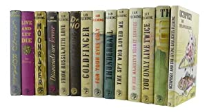 A COMPLETE SET OF JAMES BOND BOOKS: Fleming, Ian