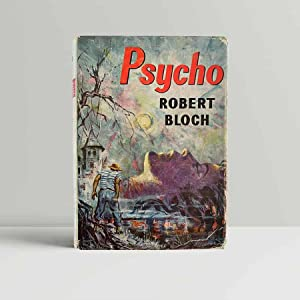Psycho [with] signed letter from Robert Bloch: Bloch, Robert