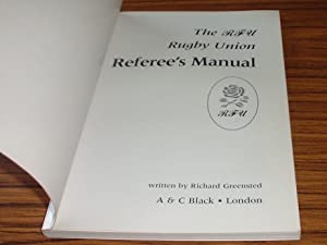 The RFU Rugby Union Referee's Manual