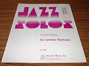 Jazz Solos Alto Sax Volume 2 : Niehaus, Lennie
