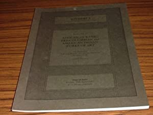 Catalogue of African, Oceanic, Pre-Columbian and American