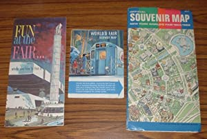 World's Fair Subway Map + Fun At the Fair . Where and How to Find it (booklet) + Official Souveni...