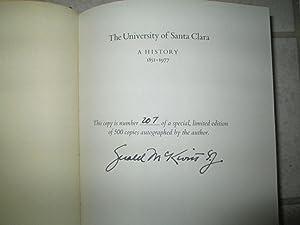 University of Santa Clara: A History, 1851-1977: McKevitt, Gerald