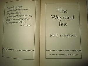 The Wayward Bus: John Steinbeck