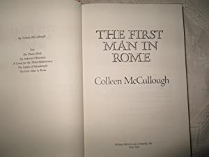 The First Man in Rome: McCullough, Colleen