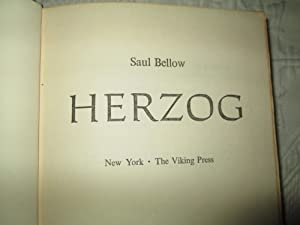 Herzog: Saul Bellow