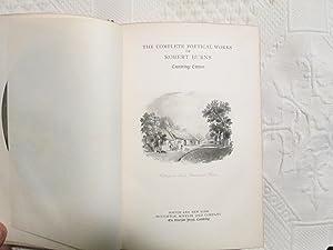 The Complete Poetical Works Of Robert Burns: Cambridge Edition: Robert Burns