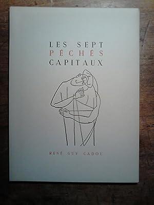 LES SEPT PECHES CAPITAUX - Couverture de Guy Bigot: Cadou, Ren� Guy