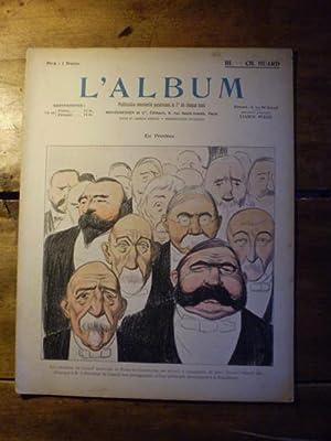 L'ALBUM Publication mensuelle - Textes et dessins inédits - N° III - Aout 1901 - ...