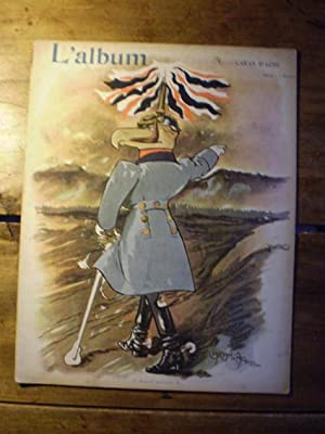 L'ALBUM Publication mensuelle - Textes et dessins inédits - N° V - Octobre 1901 - ...