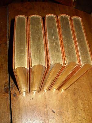OEUVRES 5 vol. : CHANSONS T. I & T. II ( 1859) Edition revue par l'auteur contenant 53 ...