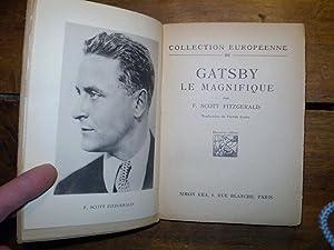GATSBY LE MAGNIFIQUE Traduit de l'anglais par Victor LLona: Fitzgerald, Francis Scott - (Llona...
