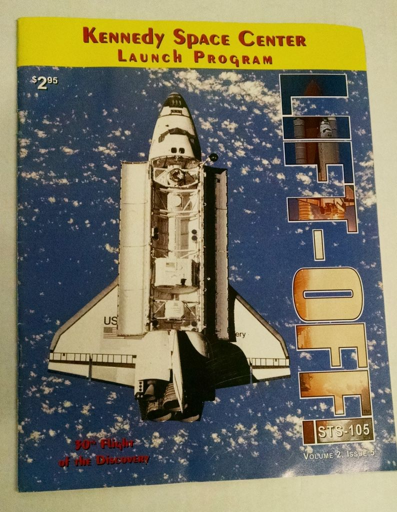Kennedy Space Center Launch Program STS-105,