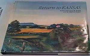 Return to Kansas: Watercolors by J. R.: Hamil, Sharon; J.