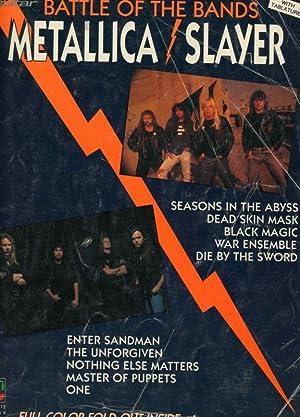 Battle of the Bands - Metallica Slayer sheet