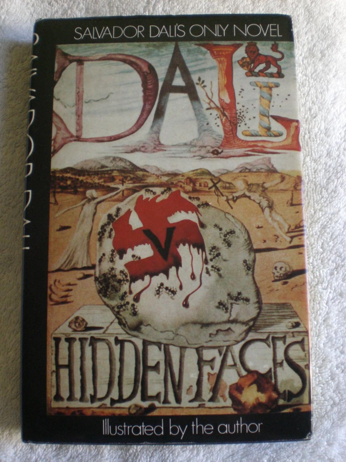 hidden faces by dali salvador peter owen limited 9780720604825