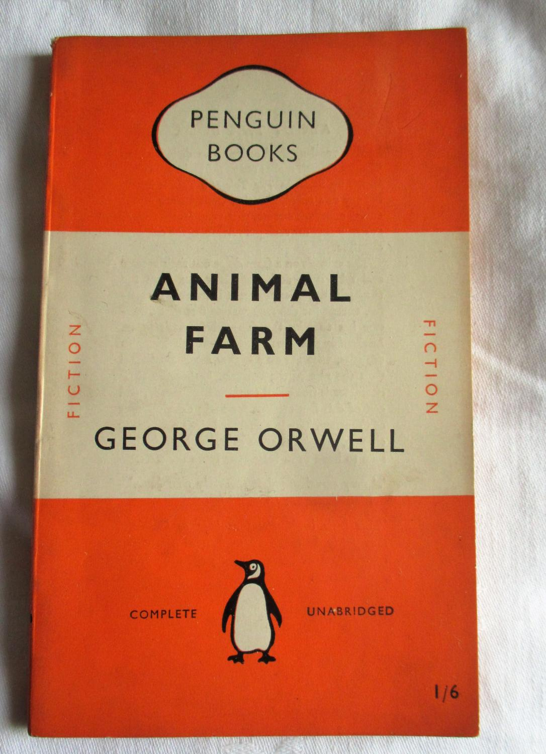 a plot analysis of animal farm by george orwell Dive deep into george orwell's animal farm with extended analysis, commentary, and discussion.