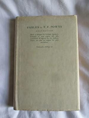 Fables by T F Powys , with 4 designs by Gilbert Spencer