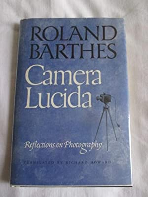 camera lucida barthes essay Benjamin's enigmatic 1931 essay 'a small history of photography' (1985a:   essay camera lucida (1993 - hereafter cited as cl), barthes disconnects the.