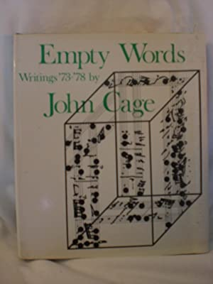 Empty Words: Writings 1973 -78