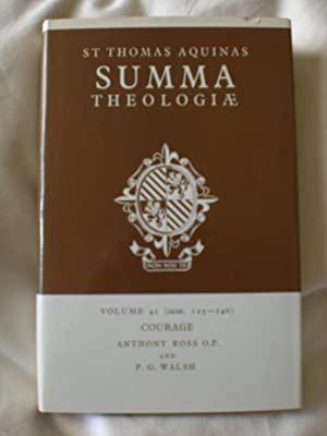 Summa Theologiae: Courage volume 42