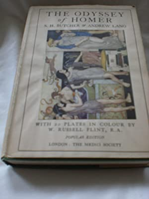 The Odyssey, Rendered Into English Prose, illustrated by W Russell Flint