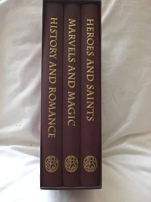 BRITISH MYTHS AND LEGENDS: MARVELS AND MAGIC, HEROES AND SAINTS & HISTORY AND ROMANCE 3 Volumes i...