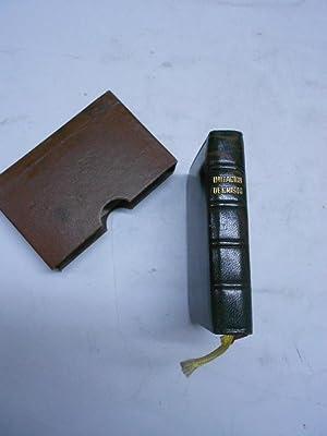 LA IMITACION DE CRISTO.: Libro miniatura) KEMPIS, Tomás