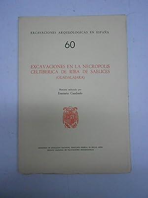 EXCAVACIONES EN LA NECROPOLIS CELTIBERICA DE RIBA DE SAELICES (GUADALAJARA).: CUADRADO, Emeterio